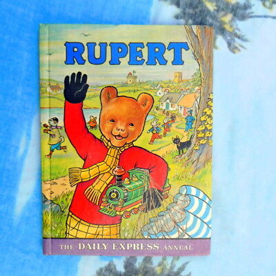 Xmas gift for born in 1976 vintage Rupert annual not inscribed not price clipped