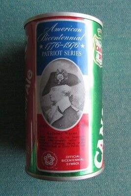 1976 Canada Dry Ginger Ale Patriot Series Anthony Wayne American Bicentennial