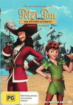 The New Adventures Of Peter Pan: Season 1 - Volume 2 = NEW DVD R4