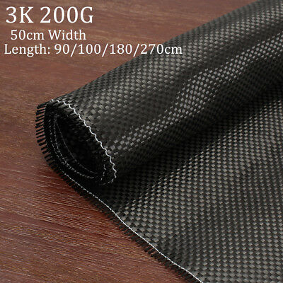3K 200gsm Real Plain Weave Carbon Fabric Cloth Carbon Fiber Tape 20'' x 108'' !