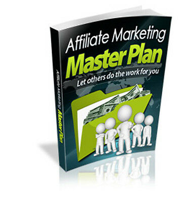 Affiliate Marketing Masterplan - Let Others Do The Work For You, Big Income (CD)