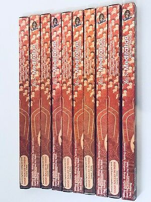 Zen Meditation Incense Sticks x 80 Value Pack (HAND ROLLED) KAMINI