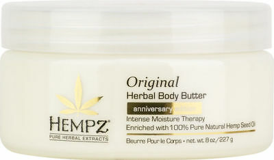 New! Hempz 20th Anniversary Edition Original Herbal Body Butter 8 oz Intense