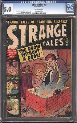 MARVEL STRANGE TALES 5 FN- 5.0 CGC ROOM without a Door DITKO GOLDEN AGE