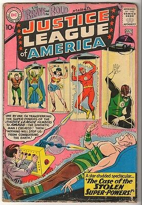DC Comics VG- 3.5 BRAVE AND THE BOLD 3rd  app JUSTICE LEAGUE AMERICA  #30