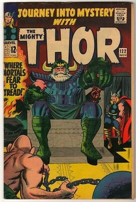 Marvel Comics FN+ THOR #122 Journey into mystery  ABSORBING MAN HIGH GRADE