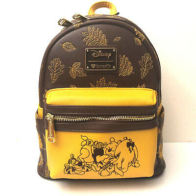 2a2a3c45509 LOUNGEFLY DISNEY WINNIE The Pooh Autumn Mini Backpack -  79.99 ...