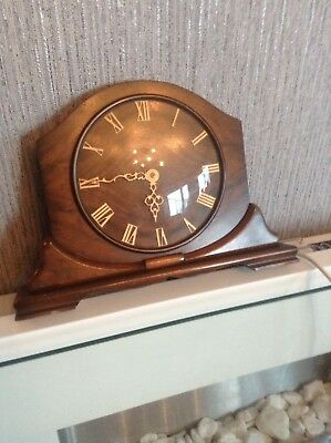 Vintage Electric Smiths Sectric Mantle Clock nice condition . Fully working .