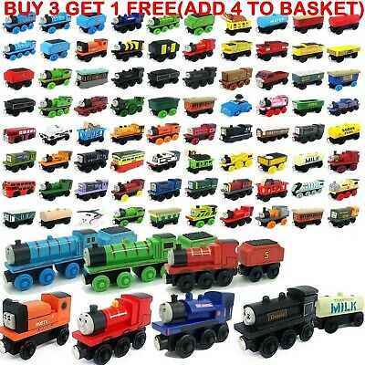 Kids Gifts The Tank Engine Tender Wooden Magnetic Railway Train Truck Toys Car