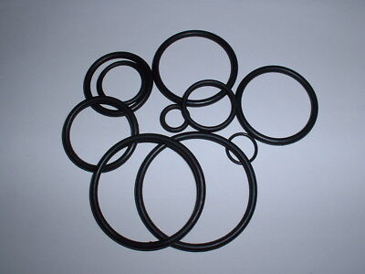 4 Pack Of Metric Rubber O Ring Seals 3Mm To 100Mm I.d. All Sizes Water Oil Etc