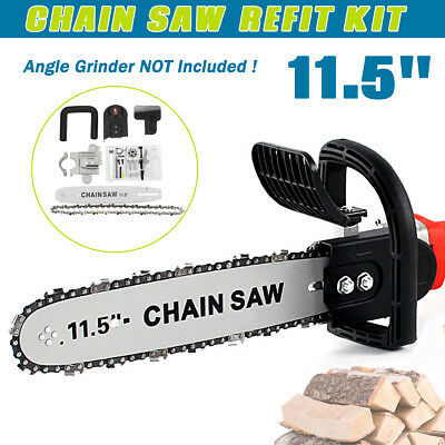 11.5'' Chainsaw Bracket Change Angle Changed Grinder Into Chain Saw Woodworking