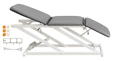 C-710 Therapy Table Electric Adjustable 56 - 91 cm 3-teilig without Gesichtsloch