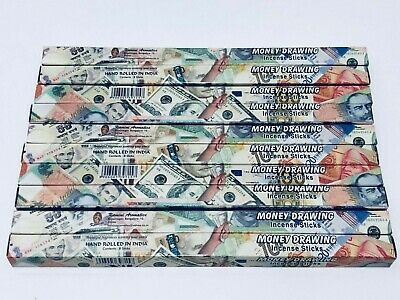 Money Drawing Incense Sticks x 80 Box (HAND ROLLED) KAMINI