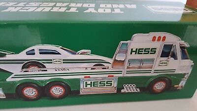 Hess Truck 2016 Toy Truck And Dragster In   Box..never  Removed From Box..new