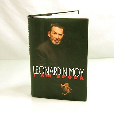 STAR TREK I Am Spock by Leonard Nimoy, SIGNED