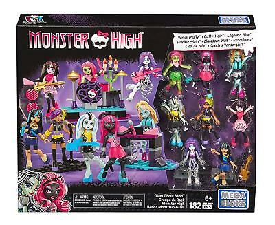New Official Monster High School Glam Ghoul Band Doll