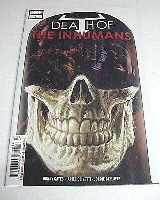 Death Of The Inhumans 1 Donny Cates 1St Appearance Of Vox Marvel $3 Flat Ship Vf