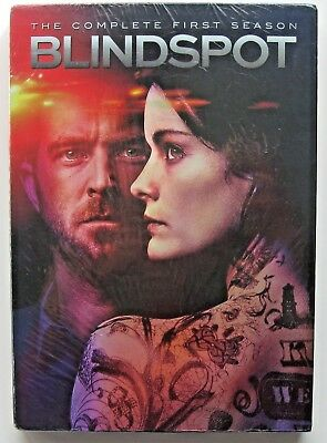 Blindspot The Complete First Season Dvd Set Brand New Still Sealed Free Shipping