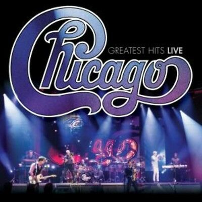 Chicago Greatest Hits Live CD & DVD Brand New 2018
