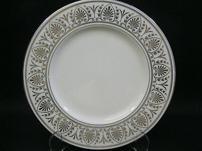 """Lenox Royal Hannah Platinum~9 3/8"""" Accent Luncheon Plate~1st Quality~Perfect"""
