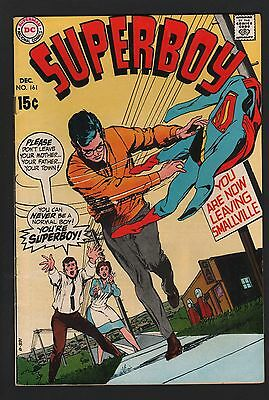 Superboy #161 F 6.0 Off White Pages