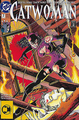 DC Comics CATWOMAN 2 She Will Make Them Wish They Were Never Born Sept 1993