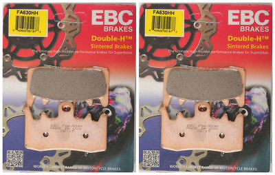 EBC Can Am Sintered Metal Brake Pads FA630HH (2 Packs - Enough for 2 Rotors)
