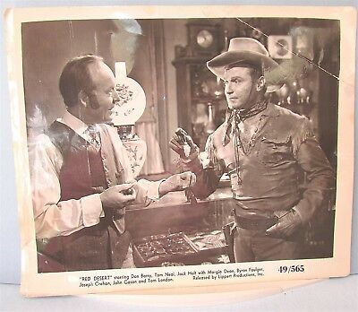Movie PHOTO Don Barry Red Desert Tom Neal Jack Holt Margia Dean Lippert Vintage