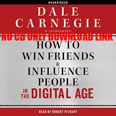 How to Win Friends and Influence People in the Digital Age by Dale Carneg(Audio)