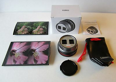 LOREO MACRO 3-D LENS KIT Close Up Stereo Pictures for NIKON Digital SLR Cameras