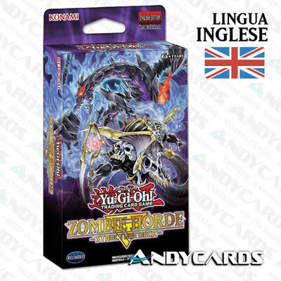 Structure Deck ORDA ZOMBIE / HORDE INGLESE ☻ SR07 YUGIOH ANDYCARDS