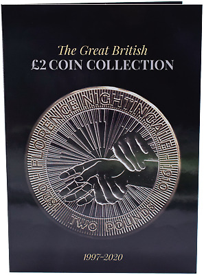 NEW 2019 £2 Coin Hunt Collectors Album RAF Captain Cook Frankenstein Xmas GIFT