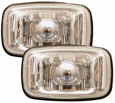 Toyota Surf/4-Runner 92-95 Crystal Clear Chrome Side Light Repeater Indicators