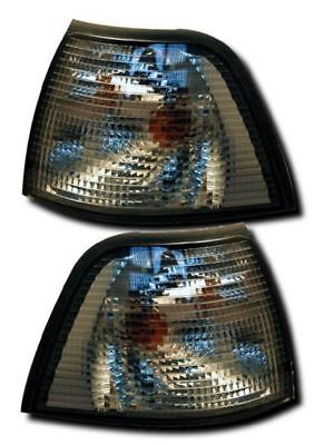 Bmw 3 Series E36 Saloon Compact Touring Smoked Front Indicators Repeaters