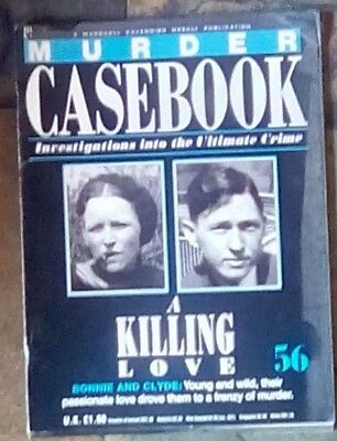 Murder Casebook 56 Bonnie And Clyde