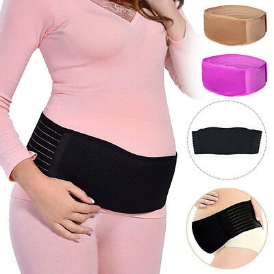 Maternity Support Band Waist Abdomen Belt Pregnant Belly Girdle Back Tummy Brace