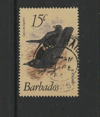 Barbados 1979 Bird defs 15c FU SG 627a, key value