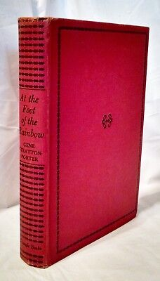 AT THE FOOT OF THE RAINBOW Gene Stratton Porter 1943 HB Triangle Leatherette