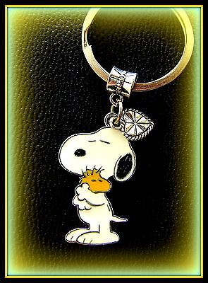 SNOOPY and WOODSTOCK KEYCHAIN Jewelry  Charlie Brown's Snoopy Beagle Dog