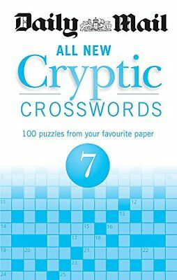 Daily Mail All New Cryptic Crosswords 7 (The Daily Mail Puzzle Books)-Daily Mail