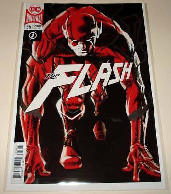The FLASH # 56  DC Comic  (December 2018)   NM   1st Printing.  FOIL COVER