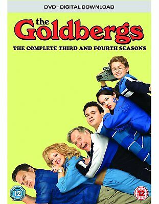 THE GOLDBERGS Season 3 & 4 DVD Set NEW 2017
