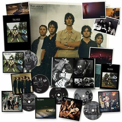 The Verve Urban Hymns Deluxe CD & DVD Box Set New 2017