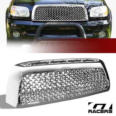 *For 2007-2009 Toyota Tundra Chrome Tr-Sport Mesh Front Bumper Grill Grille Abs