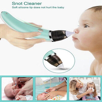 US Nasal Aspirator Electric Nose Cleaner Equipment Safe Hygienic Nose Cleaner