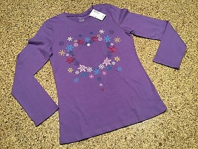 NWT THE CHILDRENS PLACE Girls Purple Shirt SIZE 7//8 M