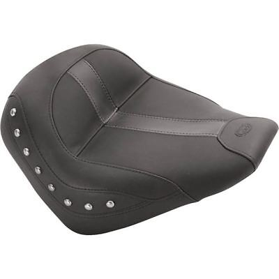 Mustang Studded Solo Seat With Vinyl Insert - INDIAN SCOUT 2015 - 2017