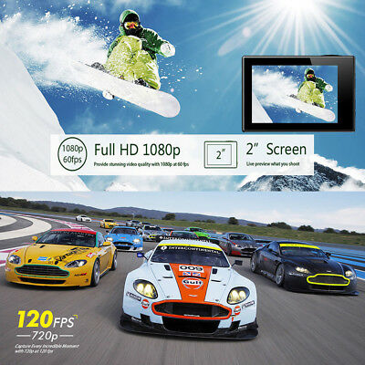 Action Camera Ultra 4K Sports WiFi 1080P HD DV 16MP Waterproof Video Camcorder