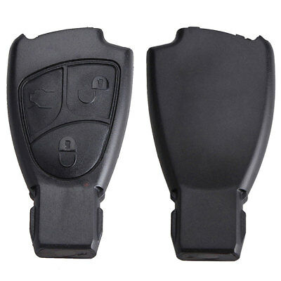 3 Button Remote Key Fob Cover for Mercedes Benz C B E Class CLS CLK SLK CL Cool