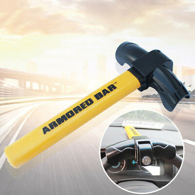 UNIVERSAL AUTO ANTI THEFT AUTO CAR SECURITY ROTARY STEERING WHEEL LOCK Eyeful